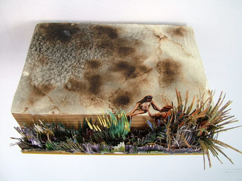 laza flört az erdőégetés szünetében marina sztefanu art artist box recycling contemporary art budapest hungary