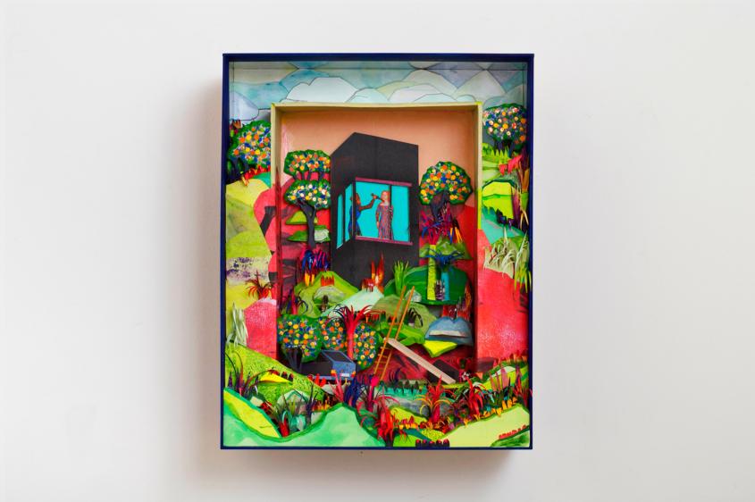 hiszen mindenük megvolt installáció installation box marina sztefanu art artist contemporary art budapest hungary artist
